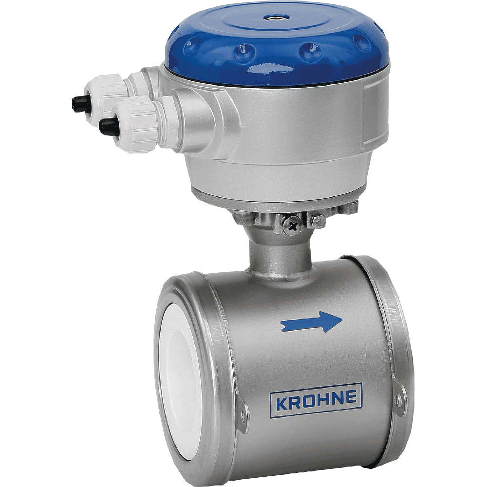 Electromagnetic flowmeter  in flanged design. Exceptional long-term stability and accuracy. For highly aggressive and abrasive fluids.
