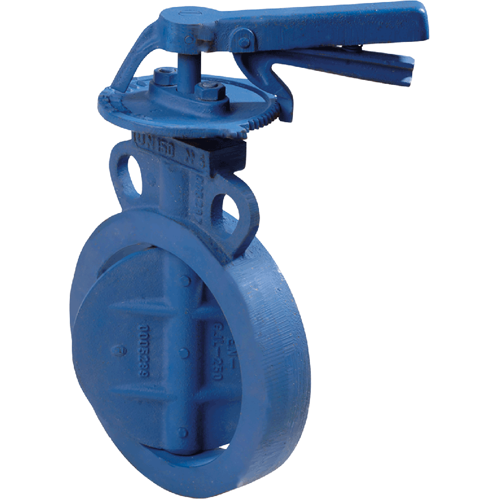 Control Damper designed for clamp-fitting between two flanges.