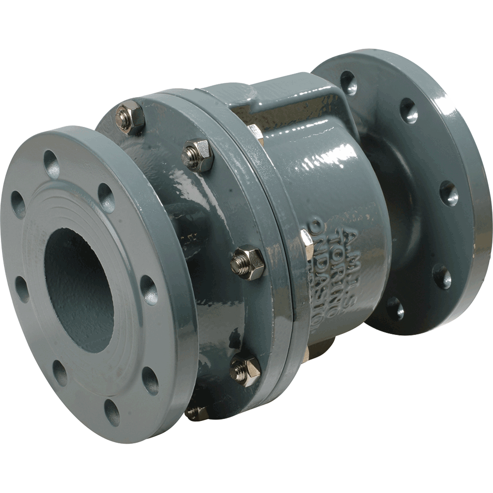 Venstop™ diaphragm non-return valve for liquids, air, and gases as well as for pulsating flow conditions. Soft sealing. Insensitive to polluted fluids. Mounting possible in any direction which is unique to check valves.