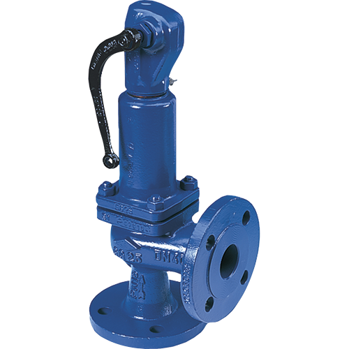 ARI full lift safety valve for steam, natural gases, vapors, and liquids. Direct loaded with spring. Wear resistant seat/disc. Precision disc alignment and guide.