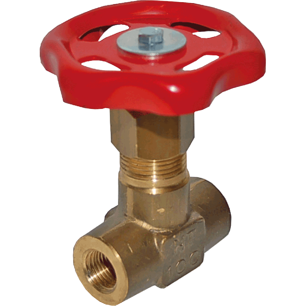 Needle valve used for liquids, steam, and gases. Body and bonnet made as one piece. Maintenance free. Easy to operate.