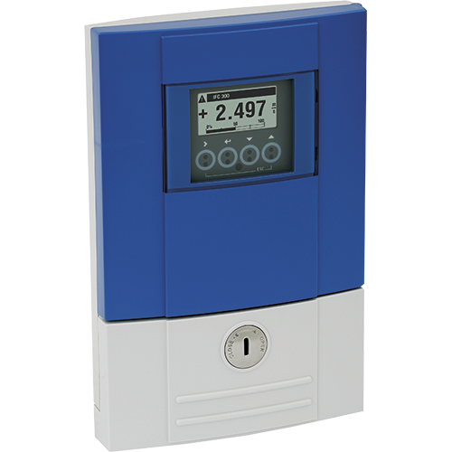 Electromagnetic flow converter for combination with Krohne OPTIFLUX and WATERFLUX flow sensors. Compact, remote field, wall-mounted and rack-mounted housing. With extensive diagnostics for advanced requirements (NE 107). 4-wire, 3 x 4…20 mA, HART®, Modbus, FF, Profibus-PA/DP, PROFINET etc.