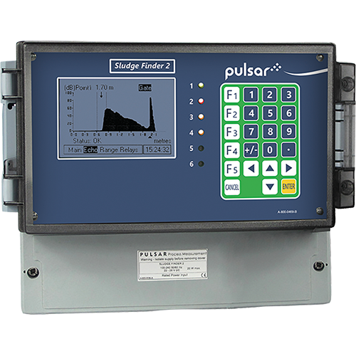 Sludge Finder 2 is a proven effective sludge blanket interface monitor in both waste water and industrial applications. Sludge Finder 2  provides a continuous level indication. Operates ultrasonically through  liquids.