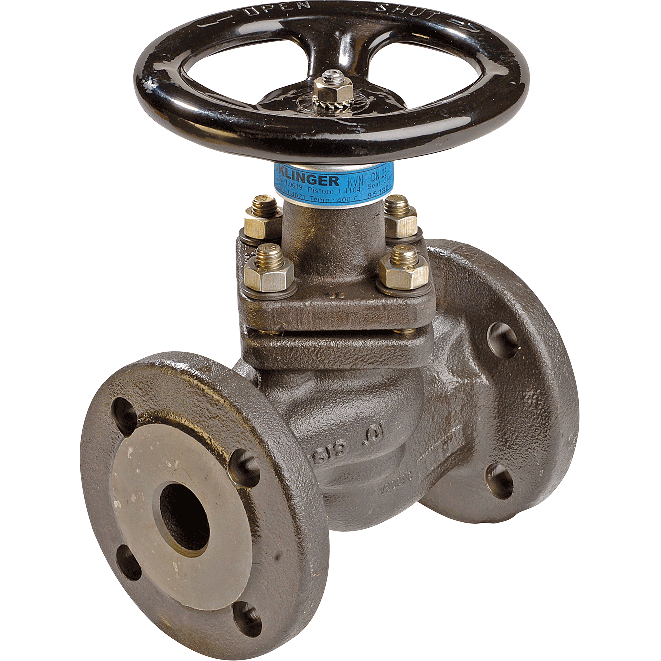 Piston valve with a unique sealing system. For hot water, steam, heat transfer medium, and dry gas applications. Excellent as as by-pass control valves.